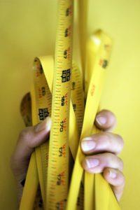 מדידת שטחי מדף